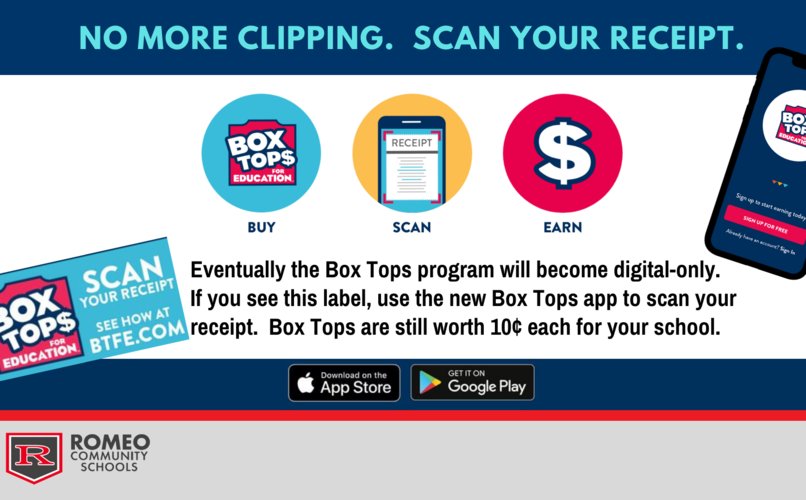 New Boxtops - no more clipping. scan your receipt with boxtop app