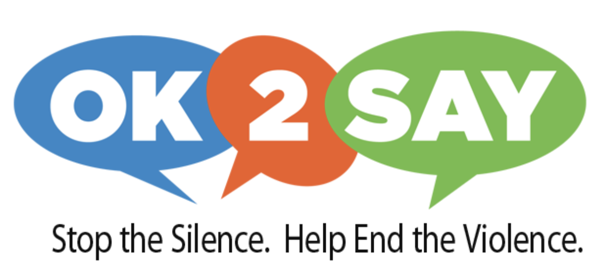 ok 2 say Stop the Silence. Help End the Violence.