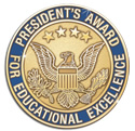 Seal for President's Award for Educations Excellence